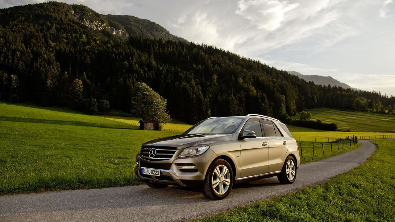 Mercedes ML 500 4MATIC BlueEFFICIENCY 20.6.2012
