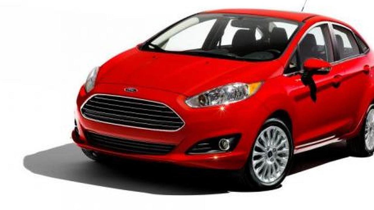 2014 Ford Fiesta Sedan