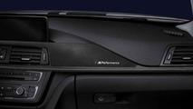 BMW 3 Series Sedan, BMW M Performance carbon fiber and alcantara interior trim 17.02.2012