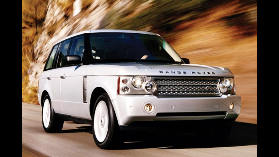 Range Rover: Kleines Facelift und 395-Turbo-PS von Jaguar