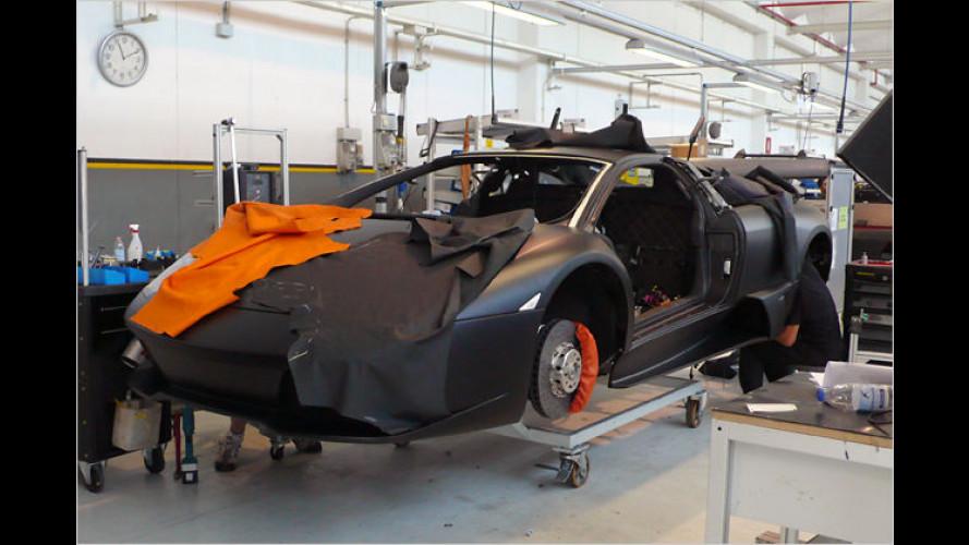 Pack den Stier bei den Hörnern: Zu Besuch bei Lamborghini