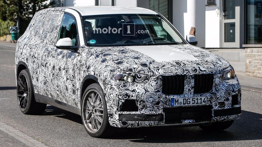 2019 BMW X5M spy photos