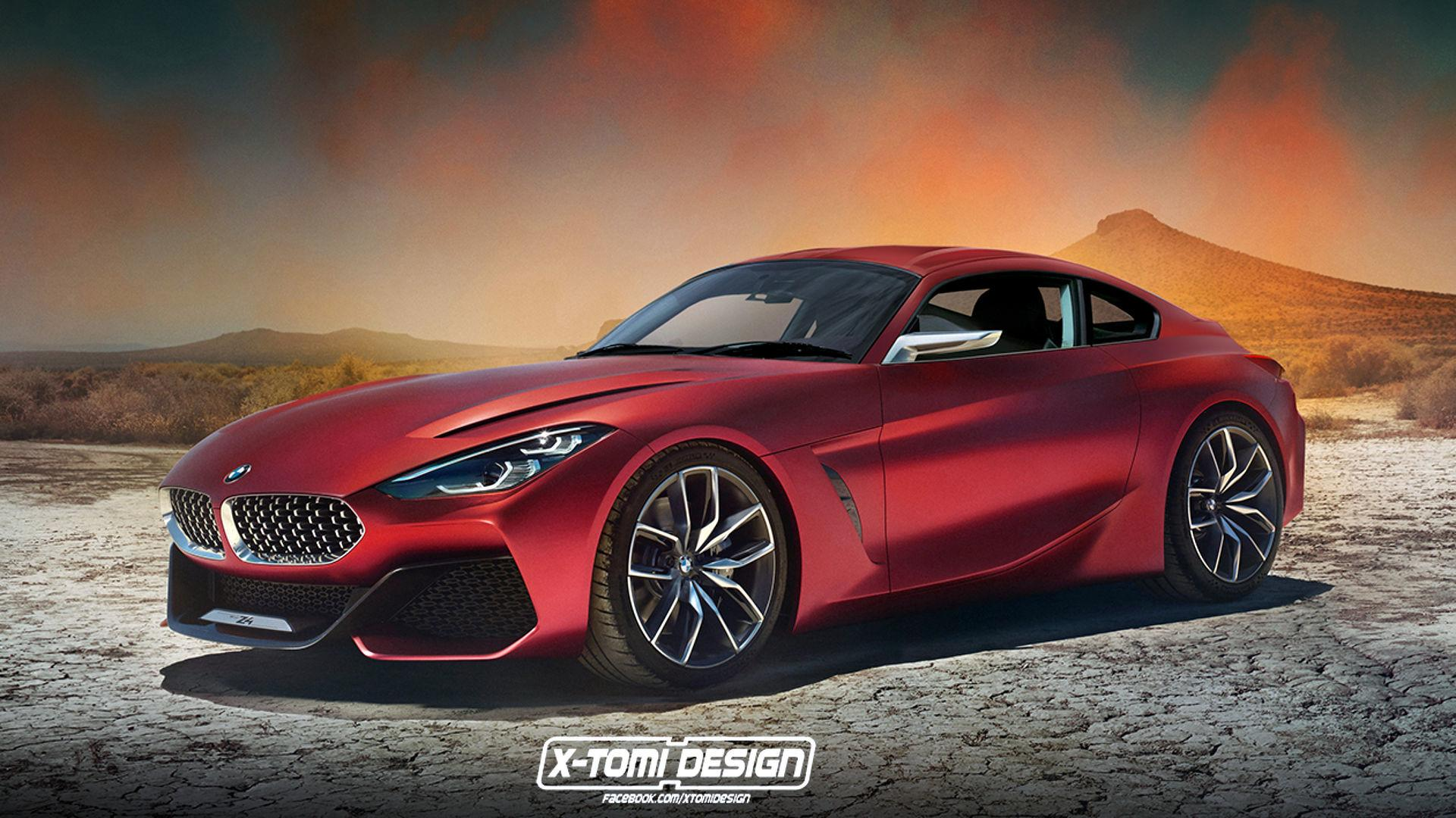 bmw z4 coupe rendering looks outrageously hot. Black Bedroom Furniture Sets. Home Design Ideas