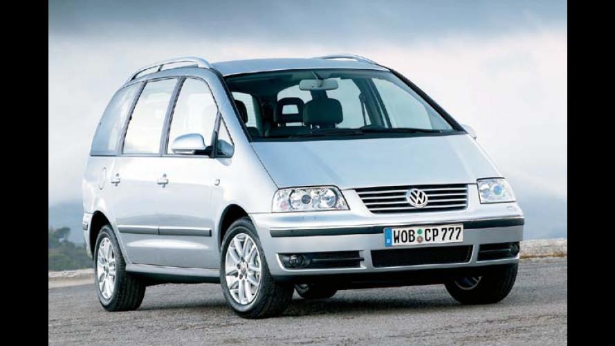 VW: Passat und Sharan mit neuer Optik