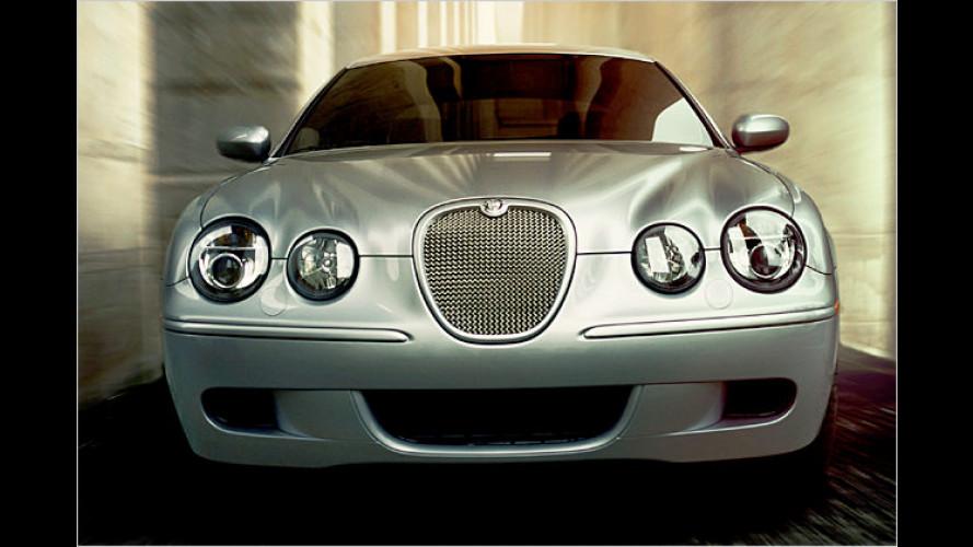 Facelift für die englische Raubkatze: Der Jaguar S-Type