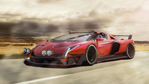 Lamborghini Veneno Battle Car
