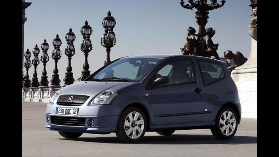 Citroën C2 und C3 Sport Chic: Edel-Minis mit satten Rabatten