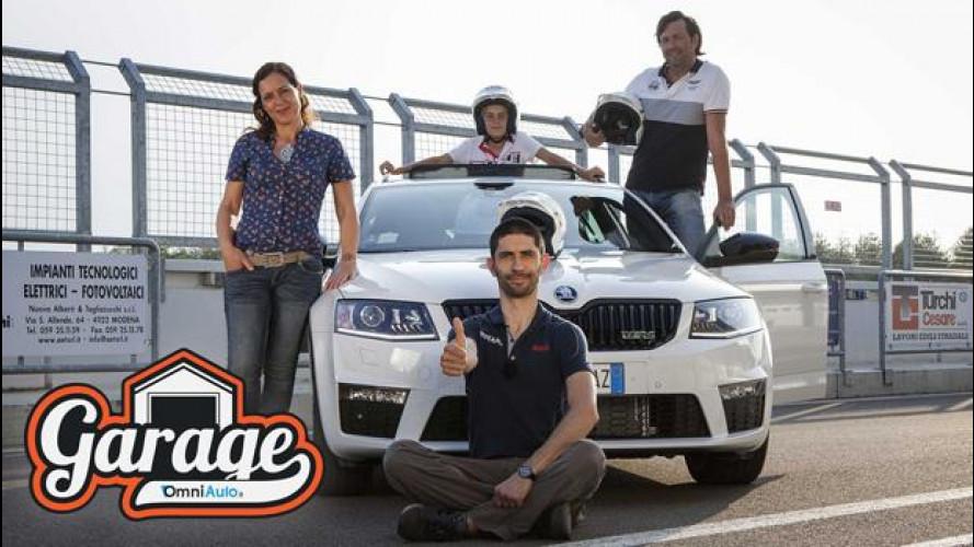 Skoda Octavia Wagon RS, in pista... con la famiglia [VIDEO]