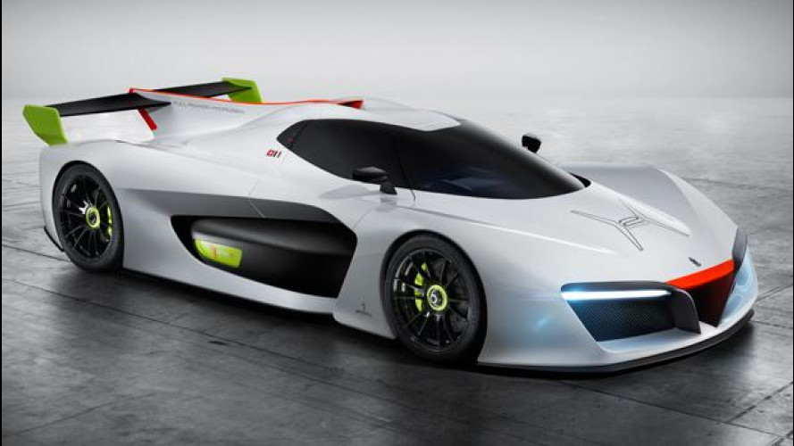 Pininfarina H2 Speed è la supercar a idrogeno [VIDEO]