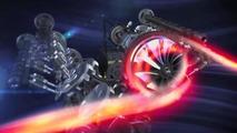 Ferrari shows off their new F1 engine, discusses the switch to Kimi Raikkonen [video]