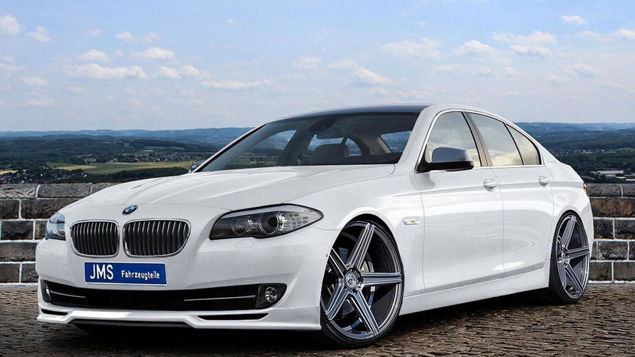 JMS introduces a styling program for the BMW 5-Series