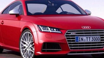 2014 Audi TT-S leaked official photo (not confirmed)