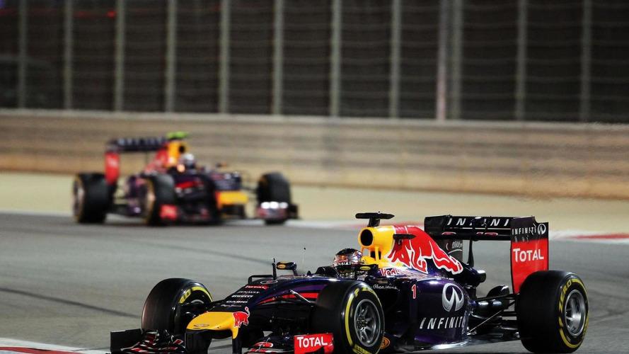Vettel admits 'struggling' to beat Ricciardo