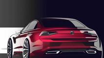 Volkswagen New Midsize Coupe concept
