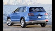 VW fabrica primeira carroceria do novo SUV de grande porte CrossBlue