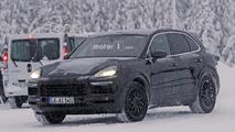 Porsche Cayenne 2018  photos espions