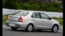 Toyota sobe preços de toda linha Etios em novembro - veja tabela