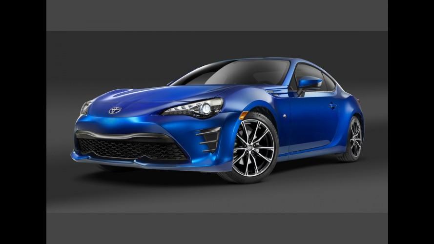 Toyota GT 86 2017 ganha visual reestilizado e irá substituir o Scion FR-S