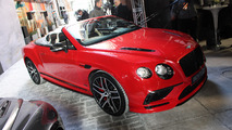 Bentley Continental Supersports heats up a cold Detroit morning