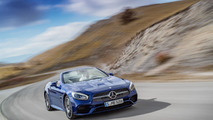 Mercedes SL Roadster azul