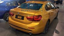 BMW Série 1 Sedan flagra ao vivo