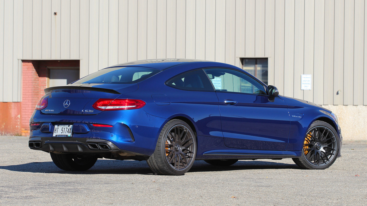 2017 mercedes amg c63 s coupe review the snazzy lunatic for Mercedes benz c300 residual value