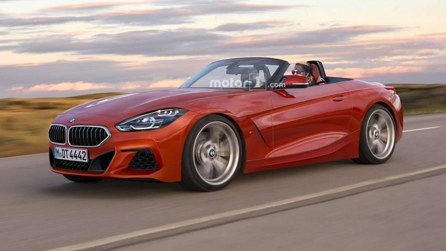 Yeni jenerasyon BMW Z4 böyle görünebilir