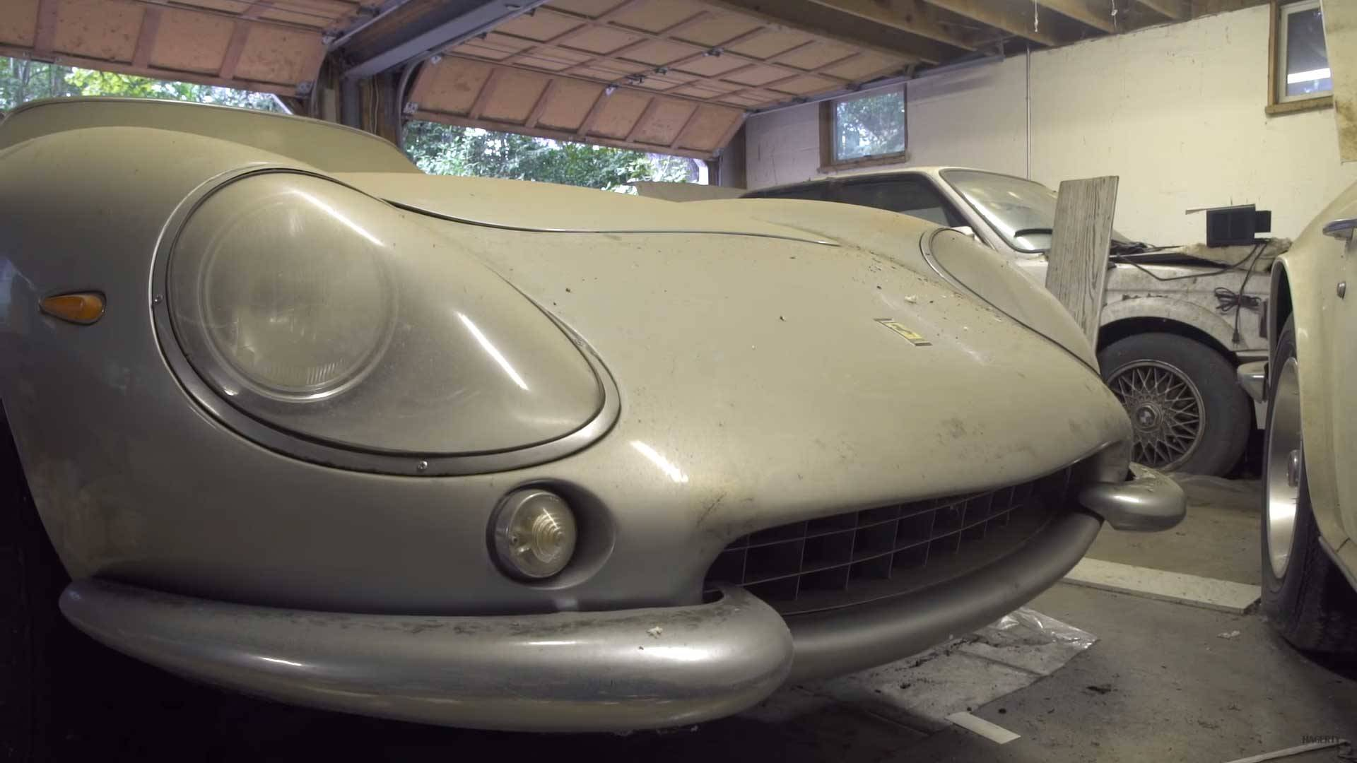 Amazing Ferrari 275 GTB Shelby Cobra Barn Find Worth 4M