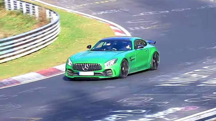 Mercedes-AMG GT4 road car spotted at the Nurburgring?