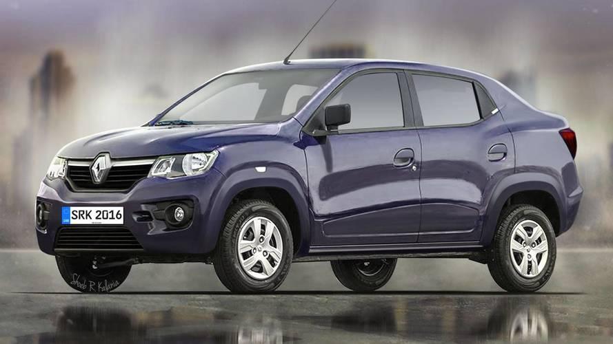 Renault Kwid Sedan (LBC) - Projeção