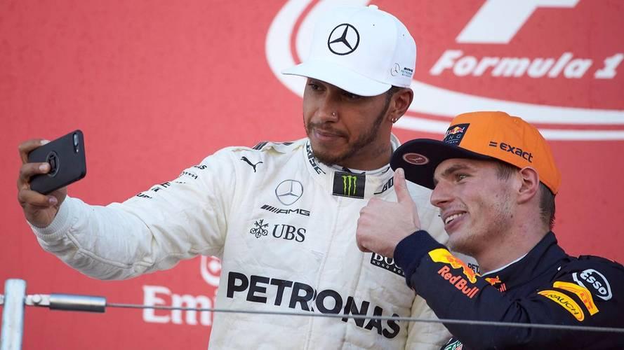 Hamilton voit Verstappen comme une menace pour 2018
