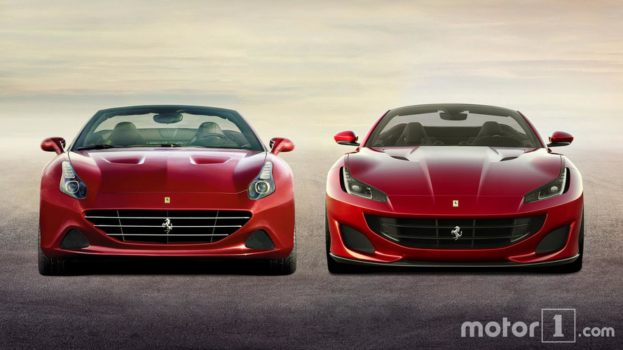 PHOTOS - Quand la Ferrari Portofino rencontre la California T !