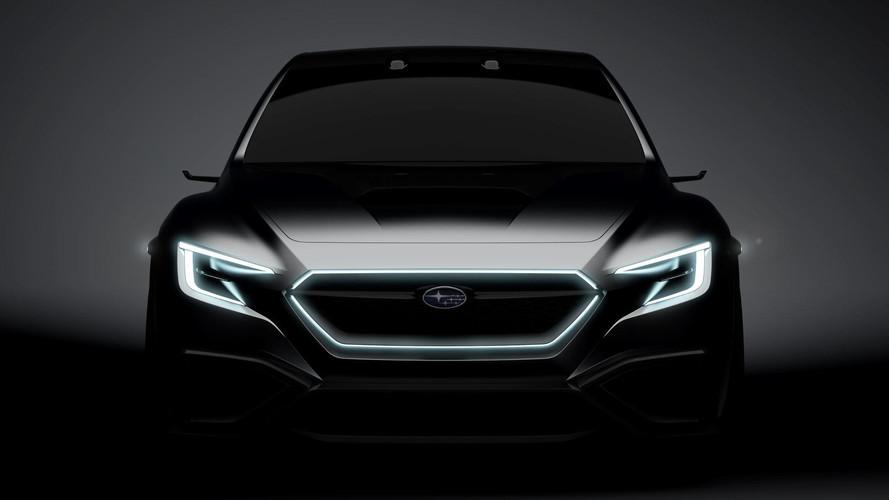Subaru Viziv Performance konsepti yeni WRX'e işaret ediyor