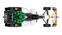 Audi reveals first Formula E electric racing series entry