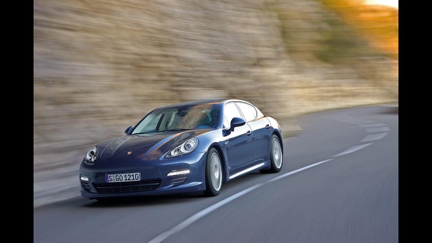Porsche Panamera: l'albero genealogico in uno spot