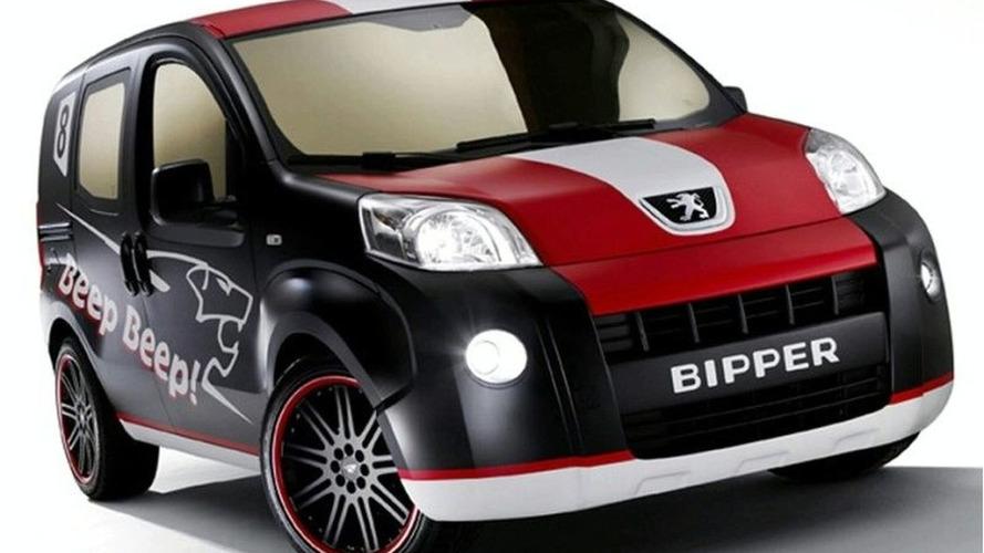 Peugeot Bipper Beep Beep Concept Van at Bologna