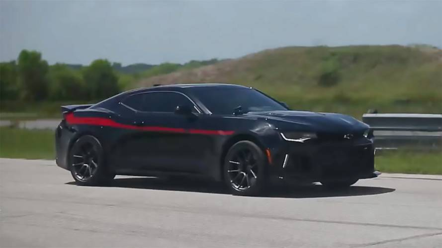 Watch Hennessey Exorcise Its 1000 Hp Exorcist Camaro Zl1
