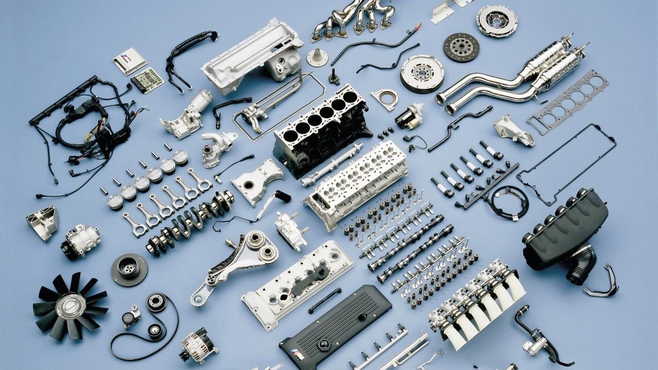 BMW S54 inline six cylinder engine