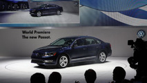 2012 Volkswagen Passat US version live in Detroit 10.01.2011