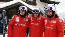 Felipe Massa,Fernando Alonso & Giancarlo Fisichella
