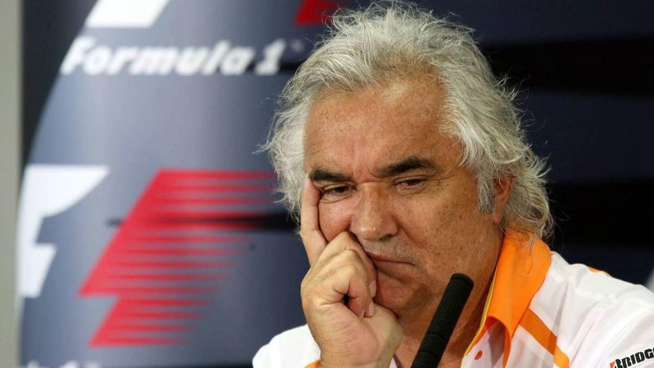 Flavio Briatore (ITA), Bahrain Grand Prix, Friday Press Conference, Manama, Bahrain, 24.04.2009