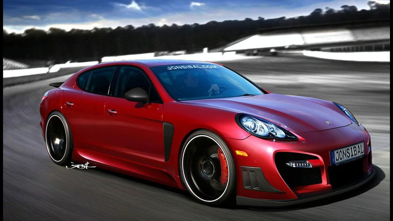 Techart styled Porsche Panamera Artists Rendering