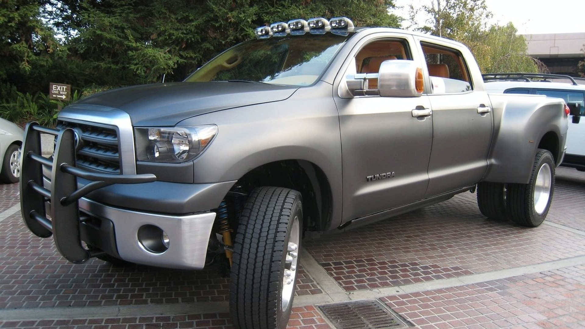 Toyota Tundra Diesel Dually Project Truck at SEMA 2008