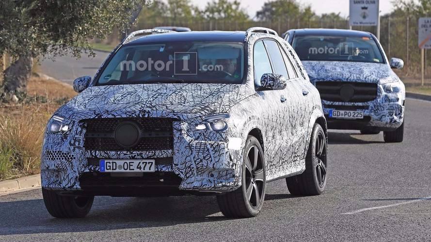 Mercedes-Benz GLE ve GLS birlikte yakalandı