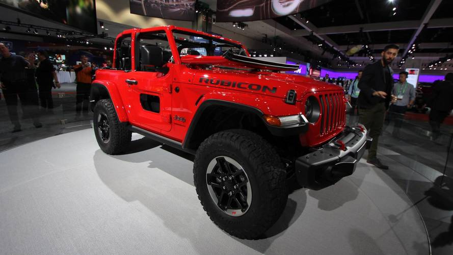 2018 Jeep Wrangler Sheds Weight, Adds Engine Options In L.A.