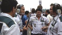 Frank Williams, Frank Dernie and Patrick Head