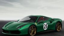 Ferrari 70th anniversary liveries