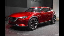 Mazda divulga primeira imagem do crossover CX9, que estreia em Los Angeles