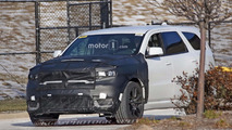 Possible Dodge Durango Hellcat spy photos