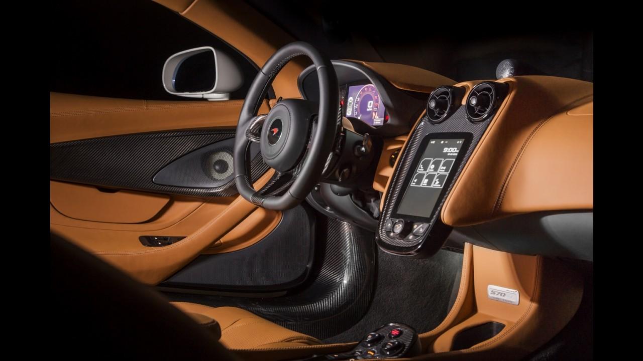 Conceito da McLaren exclusivo para Pebble Beach tem até ouro no escape